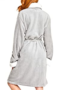 Amazon.com: Adrienne Vittadini para mujer felpa suave cómodo ...