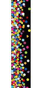 Amazon.com: Hall Pass Lanyards Confetti-Themed Lanyard and ...
