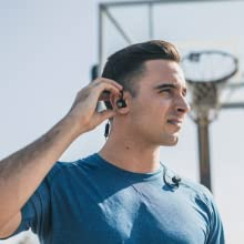 wireless headphones working out