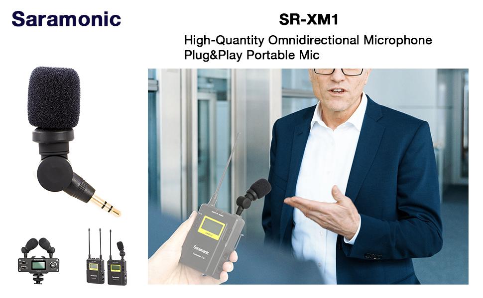 Saramonic XM1 phone mic