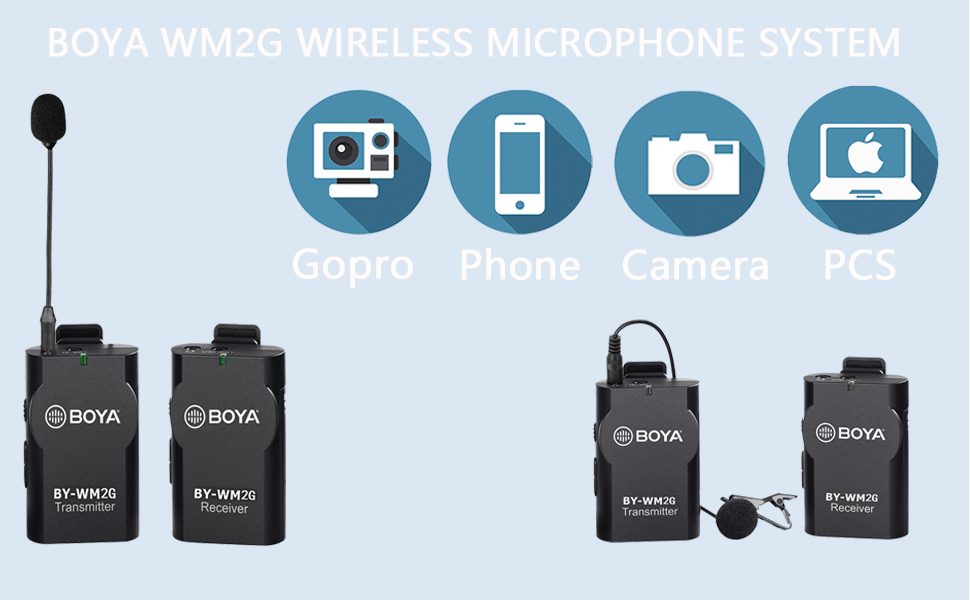 wireless microphone for interview