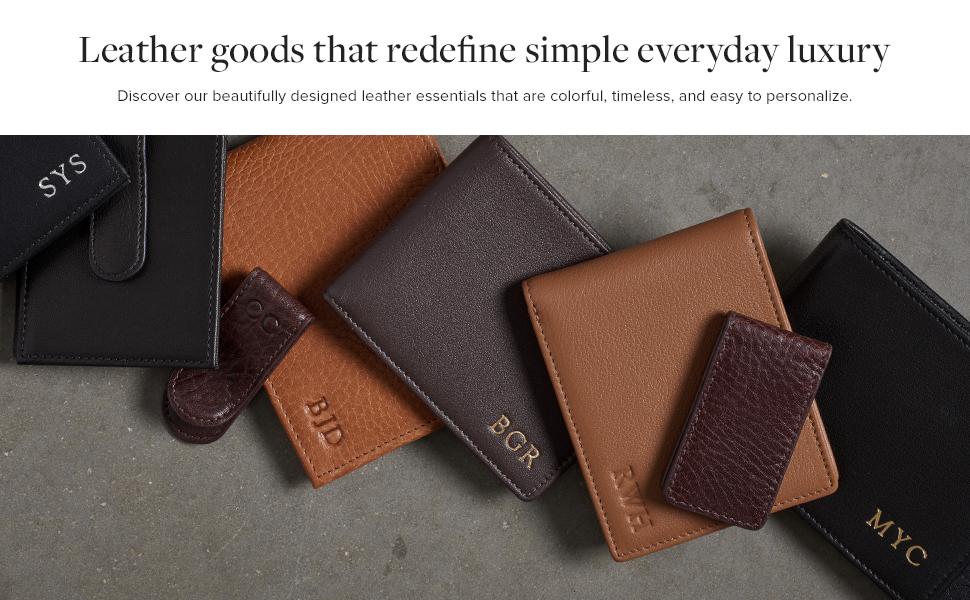 Leatherology Men's Leather Wallets