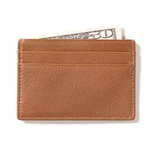 Men's Leather Slim Card Case