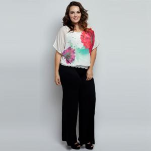 83005d23544 Stylzoo Women s Plus Size Premium Modal Rayon Softest Ever Palazzo ...