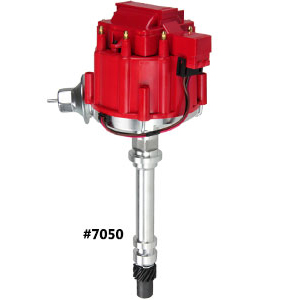 Sbc Bbc Small//Big Block Chevy Hei Distributor 65k Coil 327 383 350 400 Red Cap