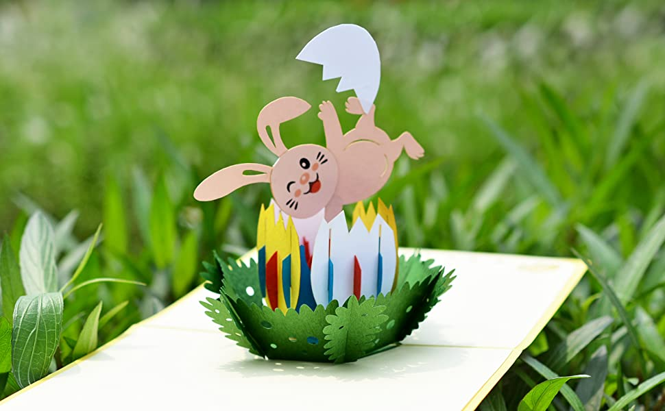 Easter Day Pop Up Card