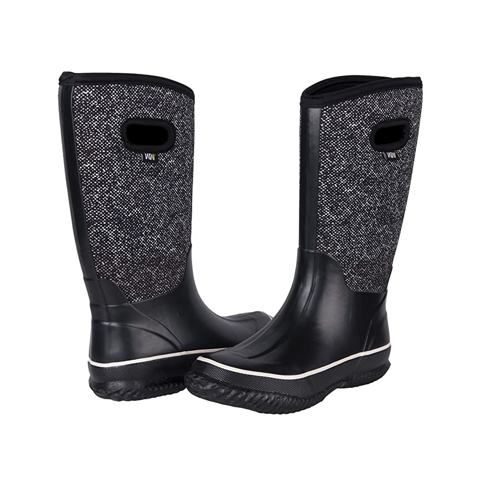 Amazon.com | WTW Women's Neoprene Rubber Snow Boots for