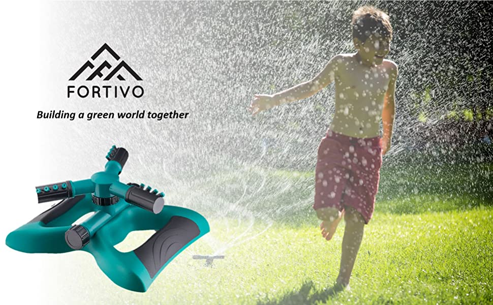 Fortivo Lawn Garden Sprinkler Main Image