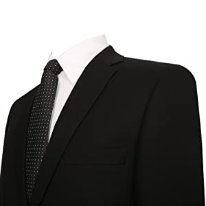 西装外套细节