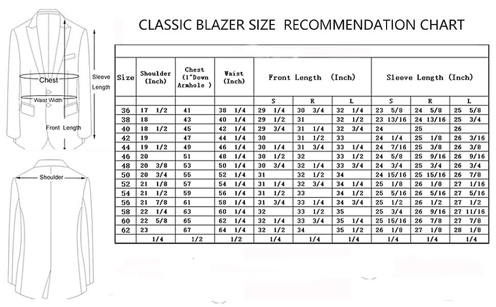 P\u0026L Men\u0027s Premium Classic Fit Suit Separate (Blazer \u0026 Pants)
