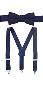 suspender and bow tie sets for kids and baby adjustable bow tie and suspender parties events wedding