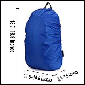 waterproof backpack cover