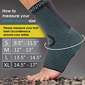 ANKLE NEW CHART BLUE