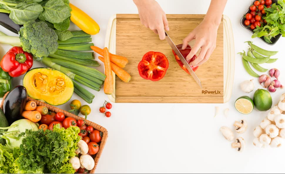 ... Plastic And Glass Boards That Crack Too Easily, Dull Knives And Harbor  Bacteria. Itu0027s Time To Upgrade Yourself To A 100% Organic Cutting Board  Made From ...