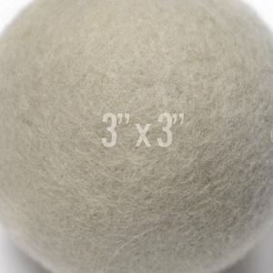 soft felt dryer ball large felted wool drying balls