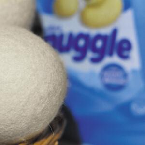 natural fabric softener reusable wool dryer balls