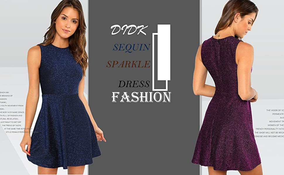 didk sparkle a line dress