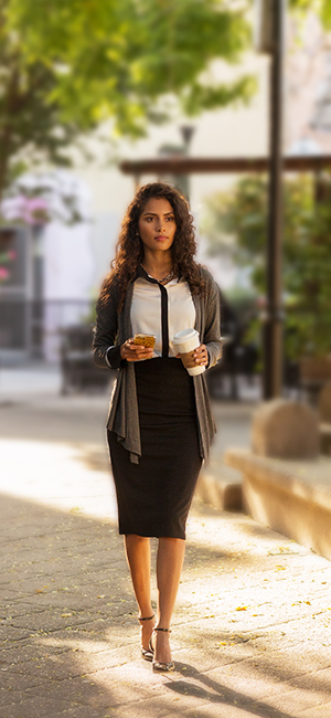 989849834c FLATTERING AND COMFY THIS PENCIL SKIRT WILL TAKE YOU THROUGH THE DAY FROM  CHIC OFFICE WEAR TO ELEGANT NIGHT OUT