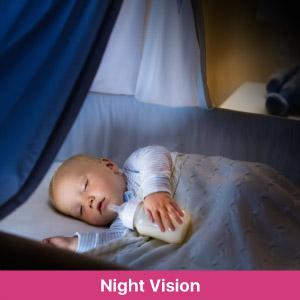 night vision camera baby camera