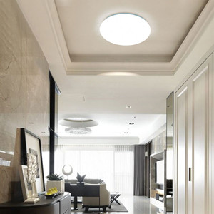 With 1600 Lumen, 80+ CRI And A High Luminous Efficiency,this Led Flush  Mount Ceiling Light Fixture Can Provide You With Enough Daylight White Light