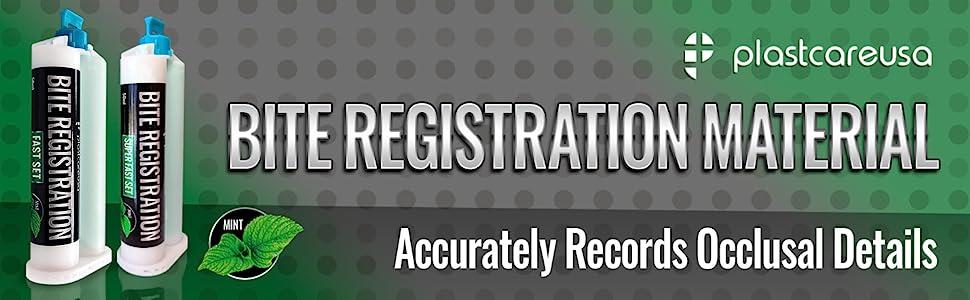 bite registration material kerr dental impression