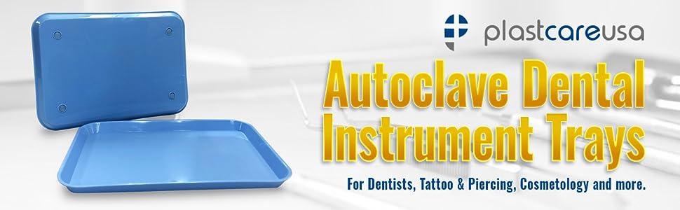 autoclave dental instrument trays