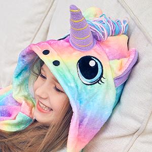 unicorn hooded