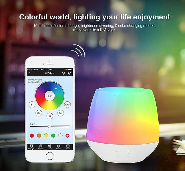 FUYUTEC Milight WiFi iBox Controller Bedside Lamp 2W USB Cable Wireless  Dimmer Controller For Mi Light Series RGBW WW/CW Bulb Downight RGB/RGBW  Strip