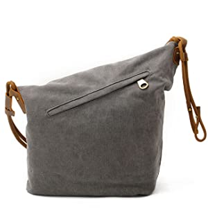 61043e6028e5 Amazon.com  FXTXYMX Hobo Bags Canvas Cross Body Messenger Bags ...
