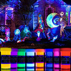 Phosphorescent Paint Glow in the Dark Luminescent self-Luminous Paint by neon nights