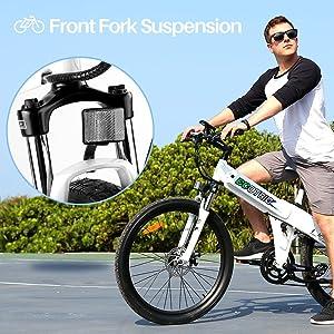 Front Fork Suspension