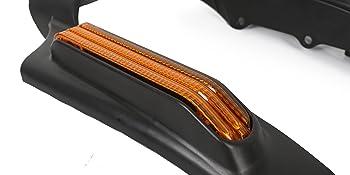 Rear Fender Fascia w//LED Light Lamp Set For 2014-Up Harley Touring Electra Glide