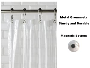 Rustproof Metal Grommets To Prevent The Top Holes From Tearing; Magnets ...