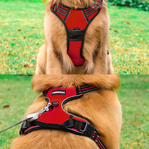 rabbitgoo large dog harness medium xl dog harness best for large breeds red girl dog harnesses cute