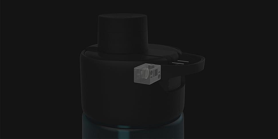 b417d4ab1a13 Amazon.com : Moikit Smart Sports Bottle Gene (Twilight Blue ...