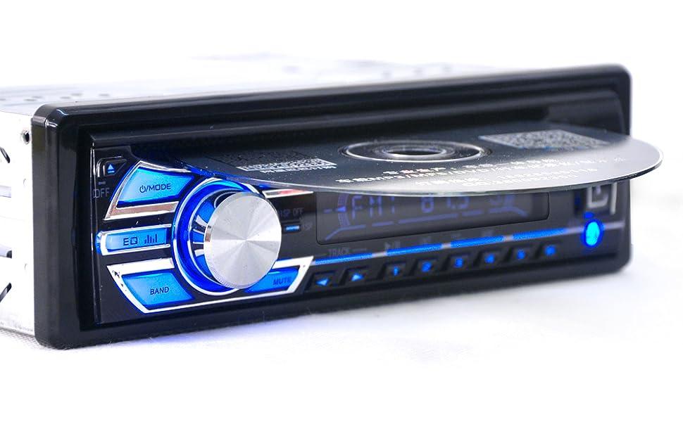 alondy 1 din 12v car stereo headunit cd dvd. Black Bedroom Furniture Sets. Home Design Ideas