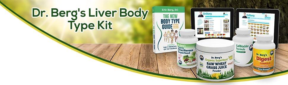 Amazon.com: Dr. Berg de hígado tipo de cuerpo kit ...