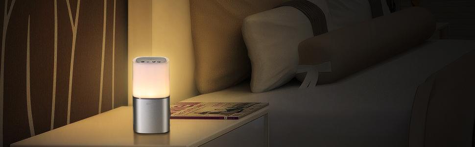 bedside lamp bluetooth speakers