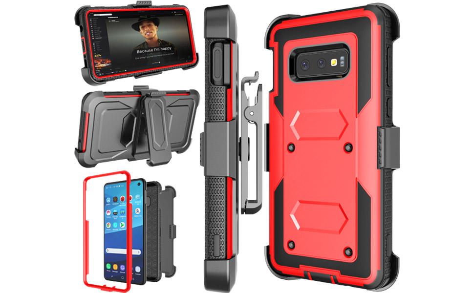 NJJEX Samsung Galaxy S10 Nbeck Case