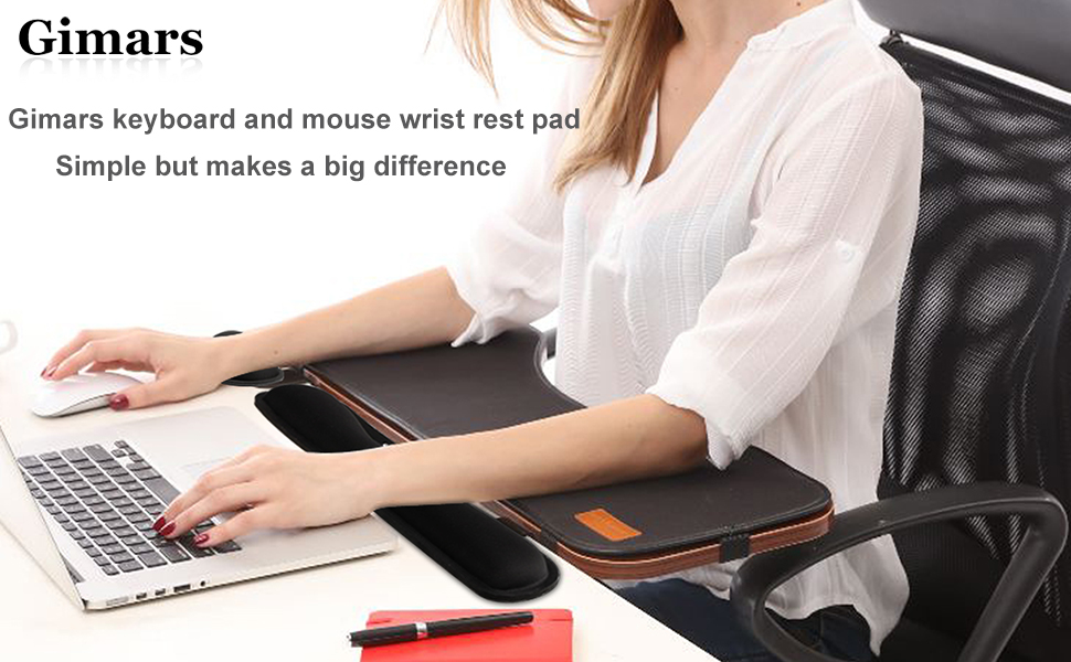 Amazon Com Gimars Memory Foam Set Keyboard Wrist Rest