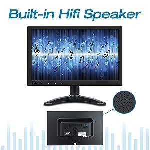 Built-in HiFi Speaker
