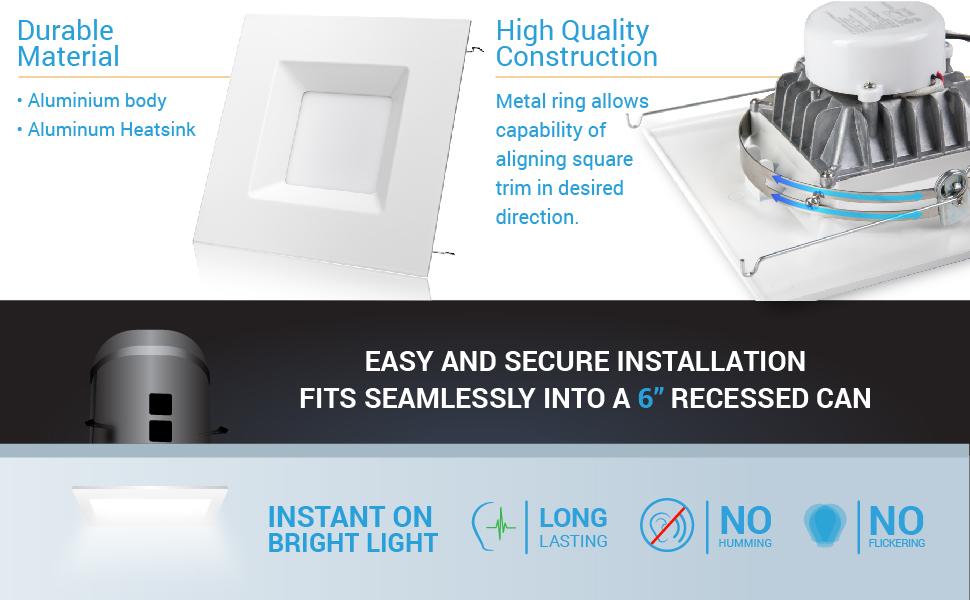 led square downlight led trim square led square trim led square trim flat square led recessed lights