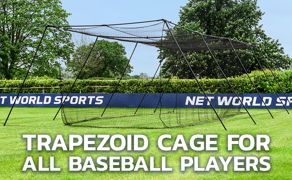 Image result for FORTRESS Trapezoid Baseball Batting Cage
