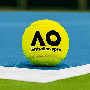 Amazon.com: Vermont Dunlop AO pelotas de tenis de pelota de ...
