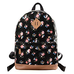 195a10abee52 Fashion Floral Printed Backpack for Girls