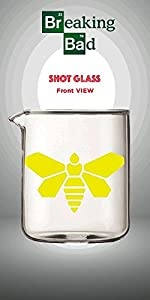 Amazon.com: 3oz Breaking Bad oficial vidrio Vaso Shot ...