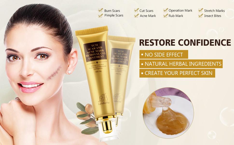 Facial scar removal cream