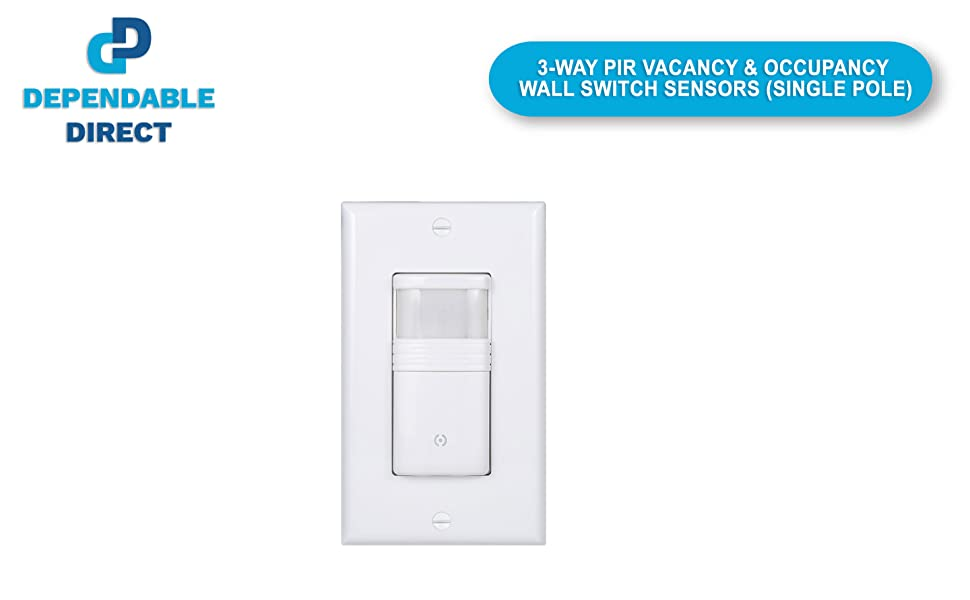 single pole switch to fluorescent light wiring diagram pack of 1  white 3 way motion sensor light switch  not single pole  white 3 way motion sensor light switch