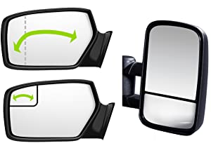 Side Mirror Replacement Glass for 2015 Ford Transit