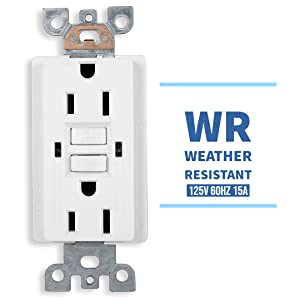 Weather Proof Receptacle, Outdoor outlet, Outdoor Receptacle, Great Quality, GFCI Receptacle
